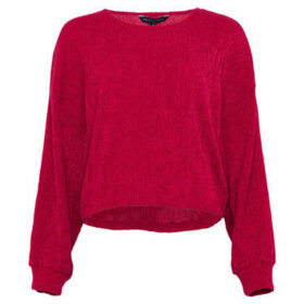 French Connection  Plain long sleeved sweater  women's Sweater in Red