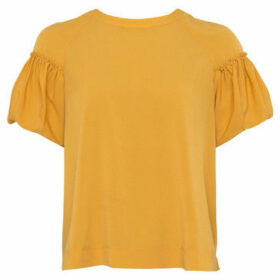 French Connection  Short sleeve t-shirt  women's T shirt in Yellow