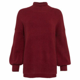 French Connection  Long sleeved collar sweater  women's Sweater in Red