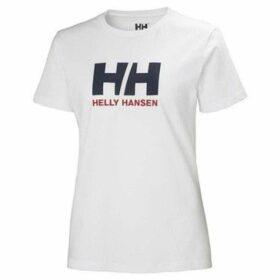 Helly Hansen  Logo  women's T shirt in White