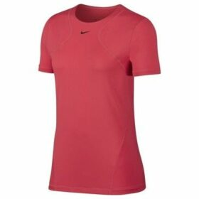 Nike  All Over Mesh  women's T shirt in Pink