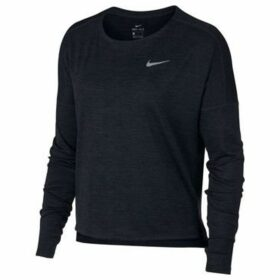 Nike  Dry Medalist Running  women's Sweatshirt in Black