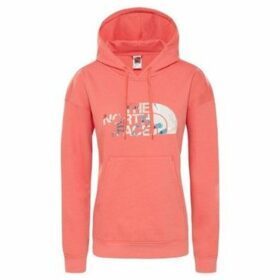The North Face  Lht Drew Peak HD  women's Sweatshirt in Red