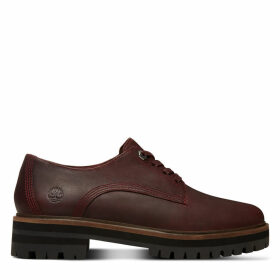 Timberland London Square Oxford For Women In Burgundy Burgundy, Size 8