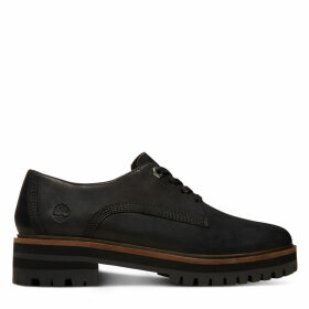 Timberland London Square Oxford For Women In Black Black, Size 7.5