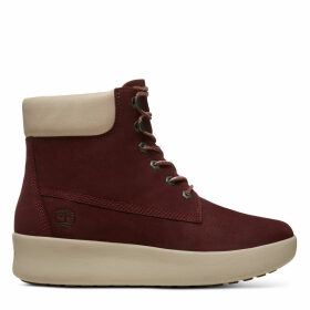 Timberland Berlin Park 6 Inch Boot For Women In Burgundy Burgundy, Size 4