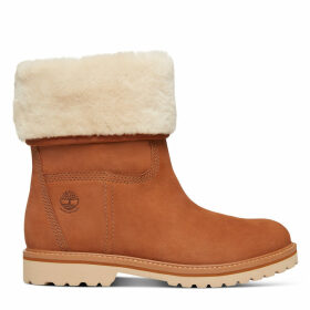 Timberland Chamonix Valley Shearling Boot For Women In Rust Rust, Size 5.5