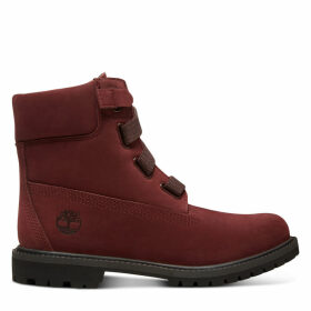 Timberland Premium 6 Inch Pull-on Boot For Women In Burgundy Burgundy, Size 4.5