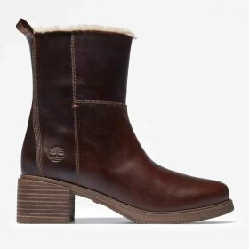 Timberland Mont Chevalier Biker Boot For Women In Brown Brown, Size 7.5