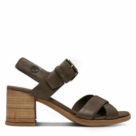 Timberland Tallulah May Sandal For Women In Brown Brown, Size 7