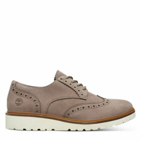 Timberland Ellis Street Brogue Oxford For Women In Taupe Taupe, Size 6.5