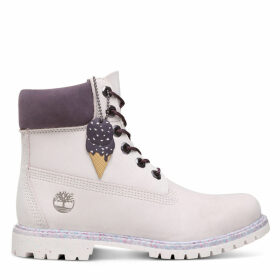 Timberland Ice Cream 6 Inch Premium Boot For Women In Mauve Mauve, Size 6.5