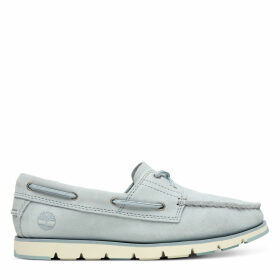 Timberland Camden Falls Boat Shoe For Women In Light Blue Light Blue, Size 6.5
