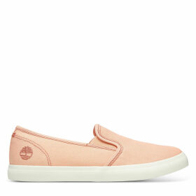 Timberland Newport Bay Slip-on Shoe For Women In Peach Peach, Size 8