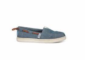 TOMS Chambray Youth Biminis Shoes - Size UK5