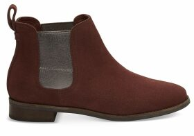 TOMS Muscat Suede Women's Ella Ankle Boots - Size UK4