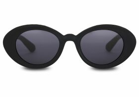 Traveler By TOMS Rossio Matte Black Sunglasses with Dark Grey Lens