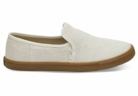 TOMS Beige Women's Clemente Slip-Ons Topanga Collection Shoes - Size UK10