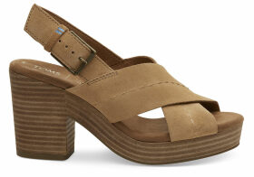 TOMS Honey Suede Women's Ibiza Sandals - Size UK5