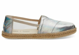 TOMS Clear Jelly Women's Espadrilles Shoes - Size UK7.5