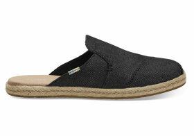 TOMS Black Denim Women's Nova Slip-On Espadrilles Shoes - Size UK7.5