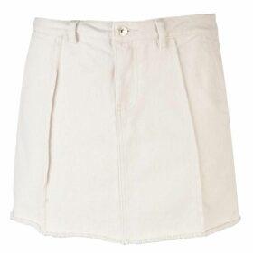 Only Safari Denim Skirt - Egret