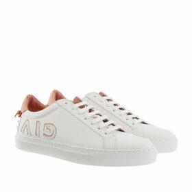 Givenchy Sneakers - Urban Street Logo Sneakers White/Salmon - white - Sneakers for ladies