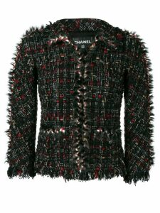 Chanel Pre-Owned 2010's tweed jacket - Black