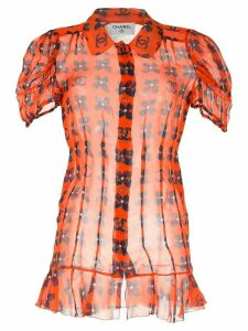 Chanel Pre-Owned CC Short Sleeve Tops - Orange