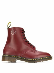 Dr. Martens x Undercover New Warriors boots - Red