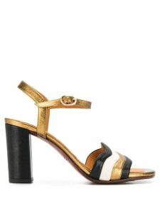 Chie Mihara Baolap heeled sandals - Gold