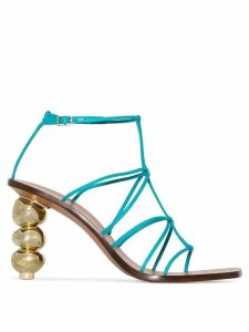 Cult Gaia Pietra 90 strappy sandals - Blue