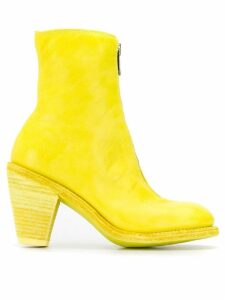 Guidi front zip boots - Yellow