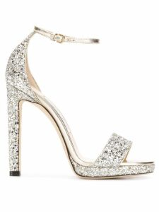 Jimmy Choo Misty 120 sandals - SILVER