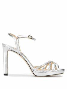 Jimmy Choo Lilah 100 sandals - Silver