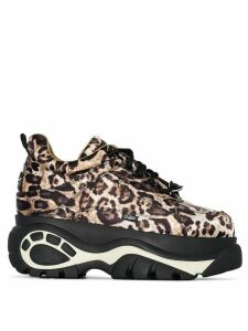 Buffalo Classic Low 68 Leopard Print sneakers - Brown
