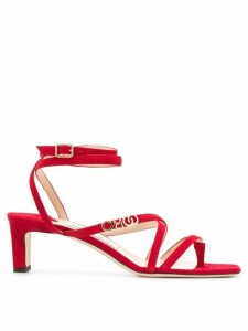 Jimmy Choo Jas 50 sandals - Red