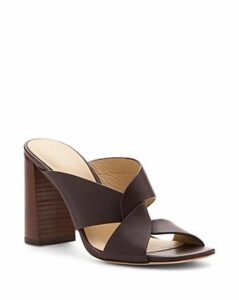 Botkier Women's Raven Leather Slide Sandals