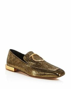 Salvatore Ferragamo Women's Lana Leather Loafers