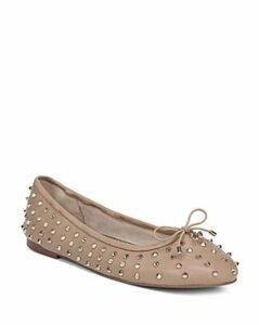 Sam Edelman Women's Fanley Studded Leather Ballet Flats
