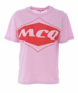 McQ Alexander McQueen Short Sleeve T-Shirt