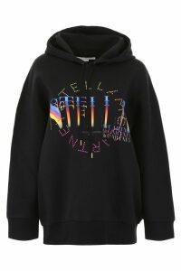 Stella McCartney Multicolor Logo Hoodie