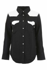 Calvin Klein Jeans Bicolor Denim Shirt