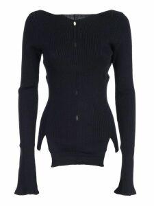 Eudon Choi Cut-out Detail Sweater
