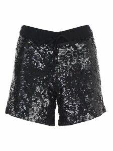 Parosh Sequin Embellished Shorts