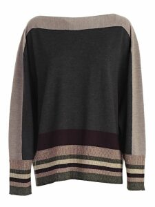 Antonio Marras Stripe Trim Sweater