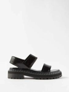 Three Graces London - Angelique Ramie-poplin Blouse - Womens - Yellow