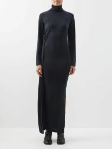 Albus Lumen - Safari Belted Cotton Shirt - Womens - Brown