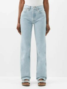 Chopova Lowena - Floral-embroidered Wool And Technical Fabric Skirt - Womens - Black Multi