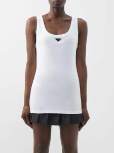 Sir - Cherie Broderie-anglaise Linen Top - Womens - Cream